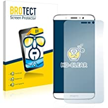 2x BROTECT Protector Pantalla Zopo Speed 7 Película Protectora – Transparente, Anti-Huellas