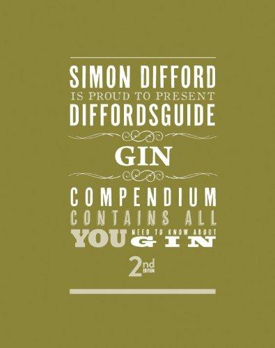 Diffordsguide Gin by Simon Difford (11-Feb-2013) Hardcover