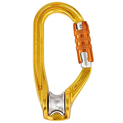 Petzl P74 TL Pulley Carabiner with Gate Opening On Side,