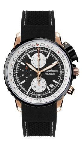 Thunderbirds 1057-02-k01TB1057-02-k01-Armbanduhr Herren, Armband Silikon Farbe schwarz
