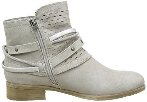 Tom Tailor 2796101, Bottines Classiques Femme Blanc (offwhite)