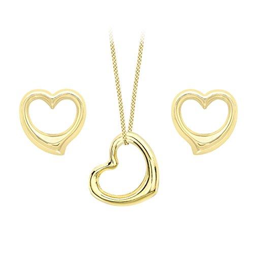 Carissima Gold Set Collana con Pendente e Orecchin...