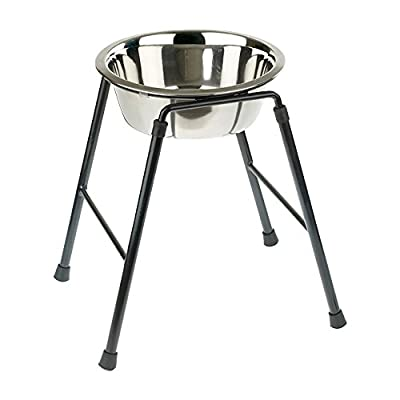 Caldex Single Feeder Stand with Bowl, 300 mm/ 1600 ml from Caldex