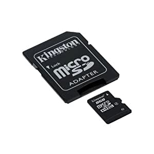 Kingston - flash memory card - 8 GB - microSDHC