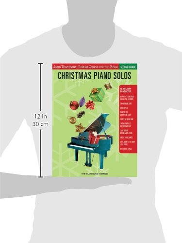 Christmas Piano Solos: Second Grade (John Thompson's Modern Course for the Piano Series)