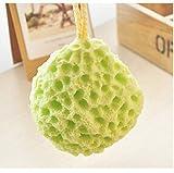 MUMENG Hydrophiler Baumwolle Kinder Baby-Dusche Badeschwamm Weiche grüne keine Stimulation (Grün)