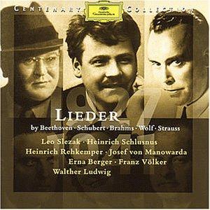Edition du centenaire - 1927-1941 - Lieder