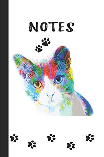 ts: Cute Artistic Lined Journal Notebook: Unique Customized Pages ()