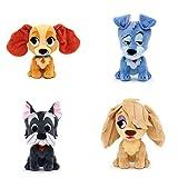 Disney Susi und Strolch Kleines Kuscheltiers einschließlich Susi, Strolch, Peg, Yock - Set of 4 - Furrytale Friends Collection