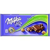 Milka Chocolat au Lait des Alpes aux Noisettes Entières Menge:100g