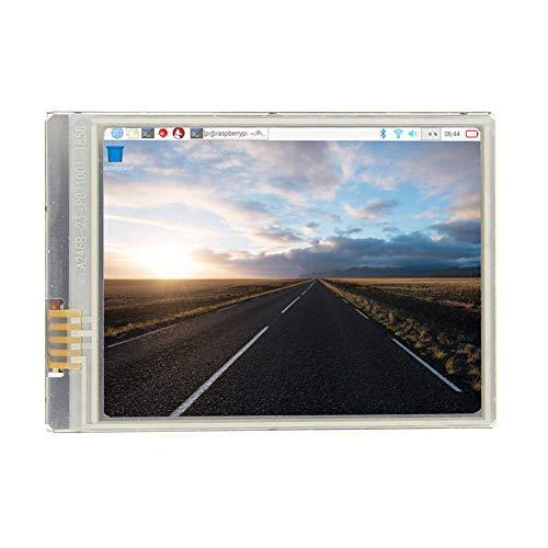 Starnearby Raspberry Pi Zero 2,8 pollici più veloce 60 + fps HD touch screen 640x480 Display/LCD per Raspberry Pi 3 modello B Plus/3B/Zero/Zero W/Zero WH
