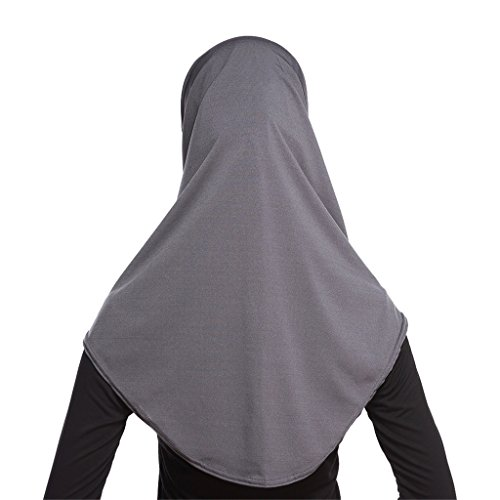 GladThink Damen 2 Stück Muslim Hijab-Schal mit mehr Farben Gary - 2