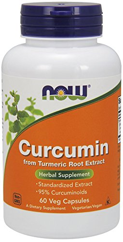 Curcumin Extract - Now Foods - 60 - VegCap by Now Foods - 41C8RcH21IL