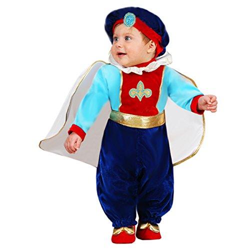 Kostüm Prinz Kleiner Baby - Karnevalskostüm klein Prinz 9-12 mesi (74-80 cm) 58 cm Schulter terra - 80-82 cm