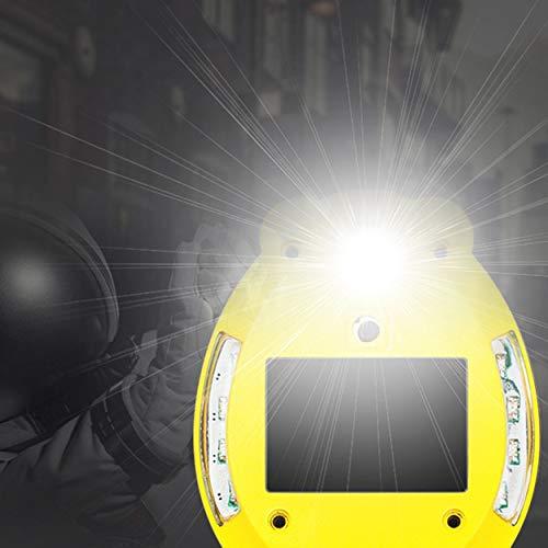Lorenlli fit af-4201 portachiavi allarme personale di difesa beatle shape con altoparlante e illuminazione sos per la sicurezza all'aperto