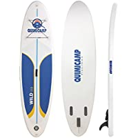 QUIMICAMP - Tabla de Paddle Surf hinchable, 12cm de espesor, incluye remo, bolsa