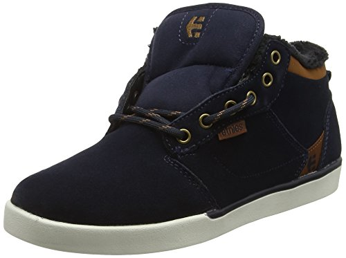 Etnies Herren Jefferson Mid Skateboardschuhe Blau (NAVY/BROWN/WHITE / 480)