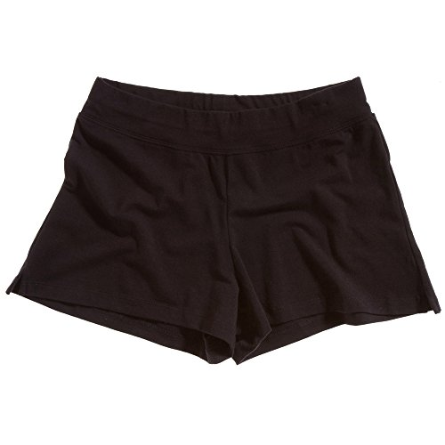 Bella Sporty Ladies Fitness Running Shorts Black