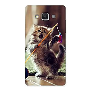 Cute Dancing Cats Back Case Cover for Samsung Galaxy A5