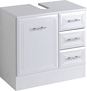 Held m bel naples under sink cupboard 1 door 3 drawers 60 x 56 x 3 - Ikea meuble sous lavabo ...