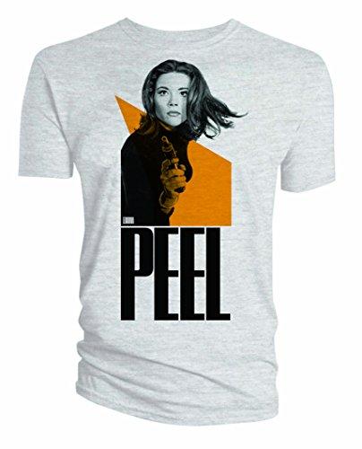 Preisvergleich Produktbild Mit Schirm, Charme und Melone T-Shirt Emma Peel Größe L
