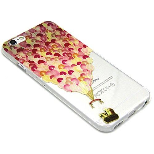 Voguecase® für Apple iPhone 5C, Schutzhülle / Case / Cover / Hülle / TPU Gel Skin (NEW YORK) + Gratis Universal Eingabestift Luftballon 04