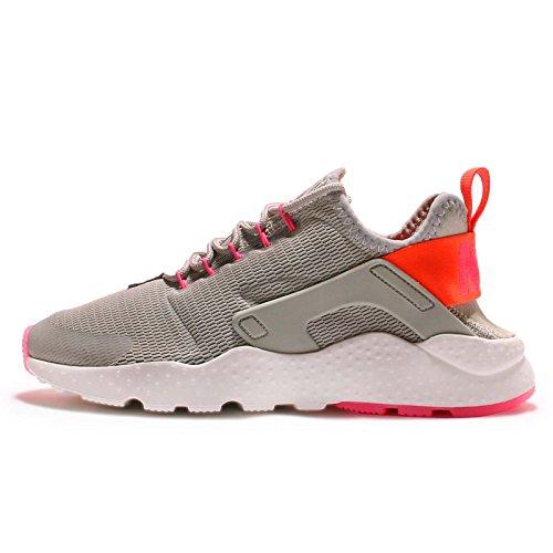 Nike Damen W Air Huarache Run Ultra Turnschuhe Gris (Lt Iron Ore / Ttl Crmsn-Pnk Blst)
