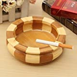 Natural Wooden Splice Ashtray Cigar Cigarette Weed Tobacco Wood Handmade Craft