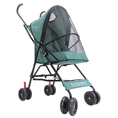 08ffca4e3 XHEYMX-Pet wheelchair Silla de Ruedas para Mascotas Cochecito estándar para  Mascotas/Cochecito Plegable