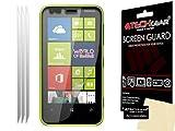 TECHGEAR - Pellicola salvaschermo Trasparente LCD per Nokia Lumia 620 (Confezione da 3)
