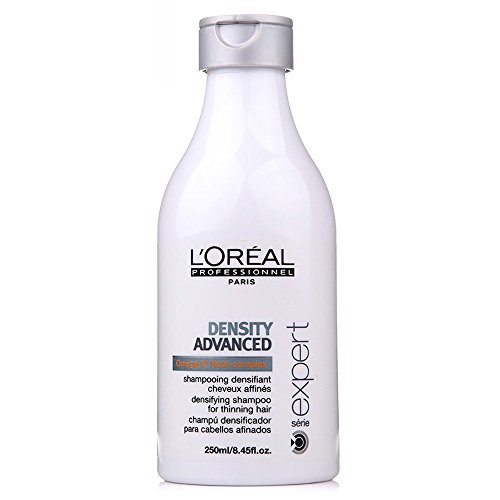 L'Oreal Paris Serie Expert Density Advanced Shampoo for Unisex, 250ml * Free USB LED Light (1PC) image