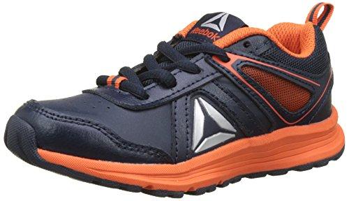 Reebok Bs7554, Zapatillas de Deporte Unisex Niños, Azul (Collegiate Navy / Engery Orange / Silver), 27 EU