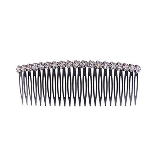 Top Card Bijoux bord Accessoires cheveux strass Hairpin Peigne Bangs Chuck