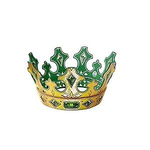 Lion Touch Liontouch-lt29202-Corona del Rey Esmeralda-Talla única