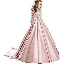 c2d62920df55 LZH Abiti da Cerimonia Nuziale di Ballo di Comunione di Promenade della  Principessa della Festa Nuziale ...