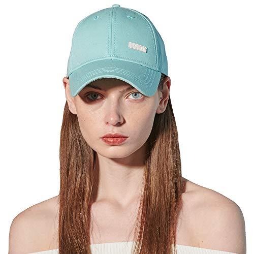 CACUSS Damen Baumwolle-Vati-Hut Baseball-Golf-Kappe Mit Einstellbarem Schnallenverschluss einheitsgröße blau -