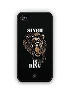YuBingo Singh is King Mobile Case Back Cover for Apple iPhone 4S