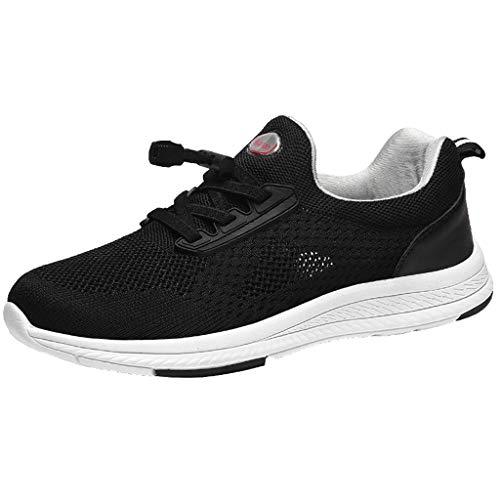 SANFASHION Herren Leichtes Sneaker, Paar Mesh Atmungsaktive Low-Top Laufschuhe Gym Turnschuhe Freizeitschuhe Wanderschuhe