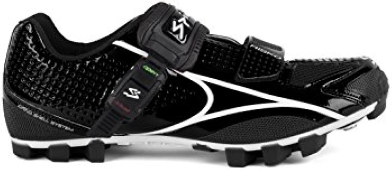 Spiuk Risko MTB 41 - Chaussures Unisexes, Couleur Noir/Blanc, Taille 41 MTB d14e30