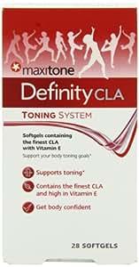 Maxitone Definity CLA Body Toning Softgels - Tub of 28