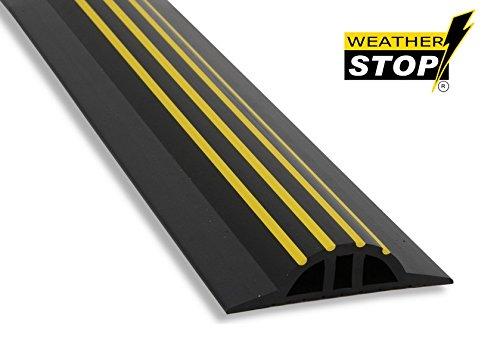 weather-stop-ws009-221-73-inch-x-30-mm-high-garage-door-threshold-seal-kit-black