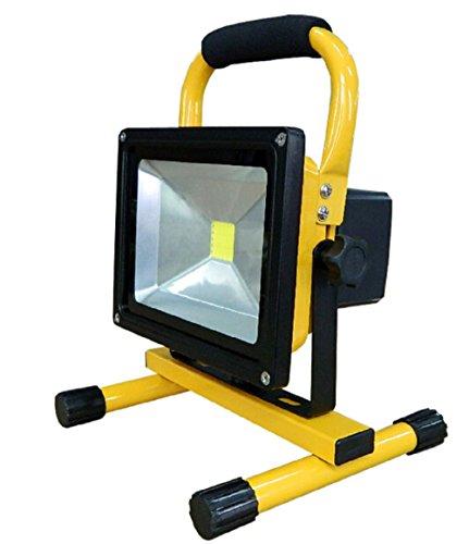Preisvergleich Produktbild APOLLO light 20W LED Akku Strahler Handlampe Arbeitsleuchte Baustrahler IP65 Fluter Baulicht