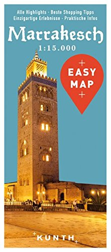 EASY MAP Marrakesch: 1:15.000 (KUNTH EASY MAP / Reisekarten)