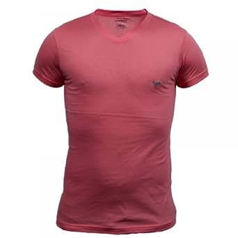 Tee Shirt Emporio Armani Col V Rose 3P557 L