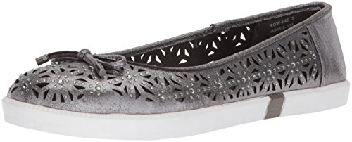 Kenneth Cole Reaction Women's Row-ing 2 Slip On Skimmer Bow Detail Ballet Flat