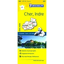 FRANCE: Cher, Indre Map 323 (Maps/Local (Michelin)) by Michelin Travel & Lifestyle (2016-04-07)