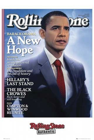Empire 107824 Rolling Stone - Barack Obama - Stars Poster Druck - 61 x 91.5 cm