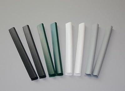24 Stück PVC - Sichtschutzstreifen Klemmschienen - anthrazit von M-tec technology GmbH auf Du und dein Garten