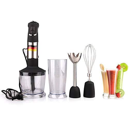 GAYBJ Stabmixer 4 in 1 beweglichem Pürierstab für Küche Food Processor-Stick mit Chopper Whisk elektrische Entsafter Mixer