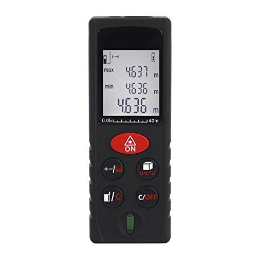 Tsing Telémetro Láser Distanciómetro Medidor Digital de Distancia (80m)